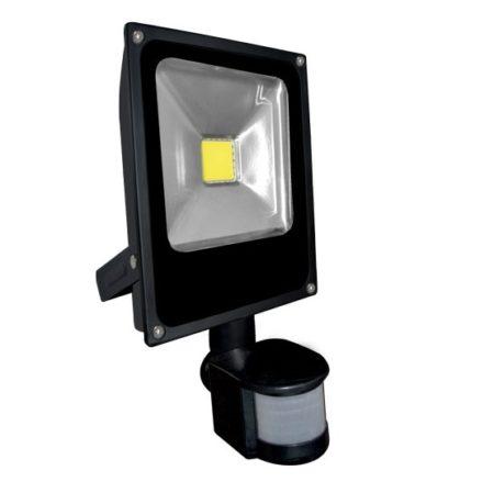 slim led reflektor 20w so senzorom