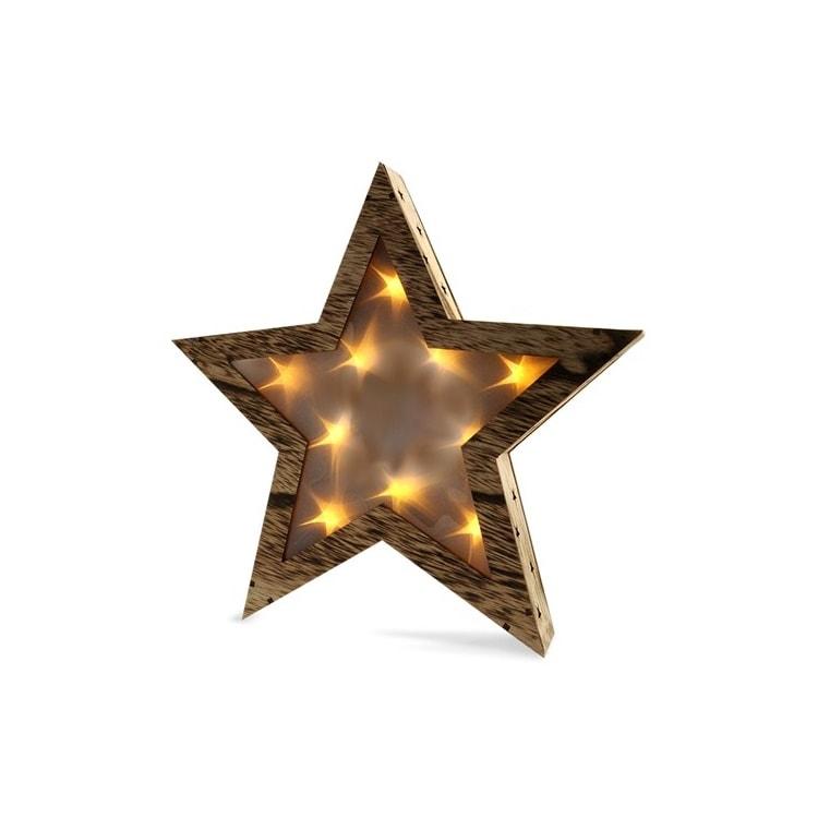 f1855693959d Vianočná LED hviezda s 3D efektom hviezd na baterky I ForLED