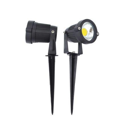 zahradny mini led reflektor s bodcom 5w