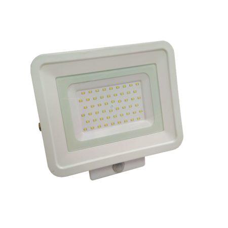 biely smd led reflektor s pohybovym senzorom 50w