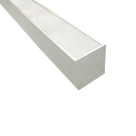 biele linearne zavesne led svietidlo line 36w