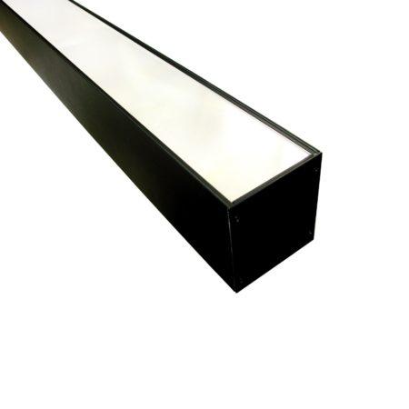 cierne linearne zavesne led svietidlo line 36w
