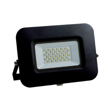 30w led reflektor cierny premium line