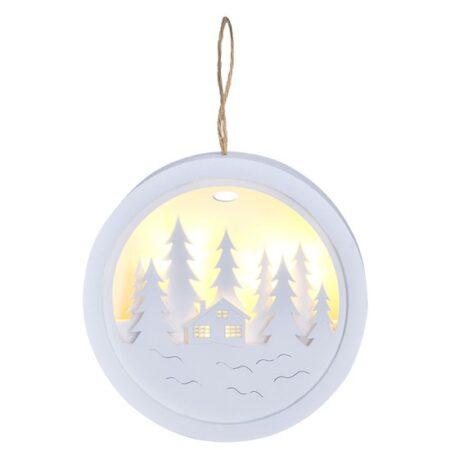 vianocna led dekoracia krajinka