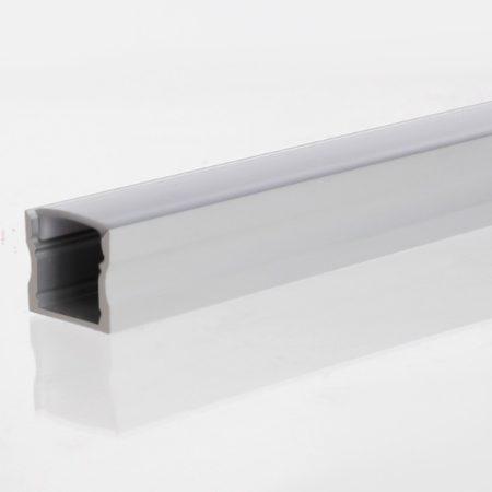 biely hlinikovy profil macro s difuzorom 2m a prislusenstvom